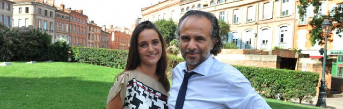 Stéphan Oddos (chef d'entreprise) et Jenifer Dulac (co-gérante