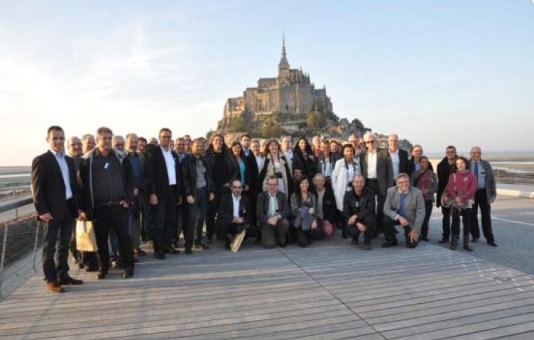 Le Club [Oui au Bois] au Mont-Saint-Michel