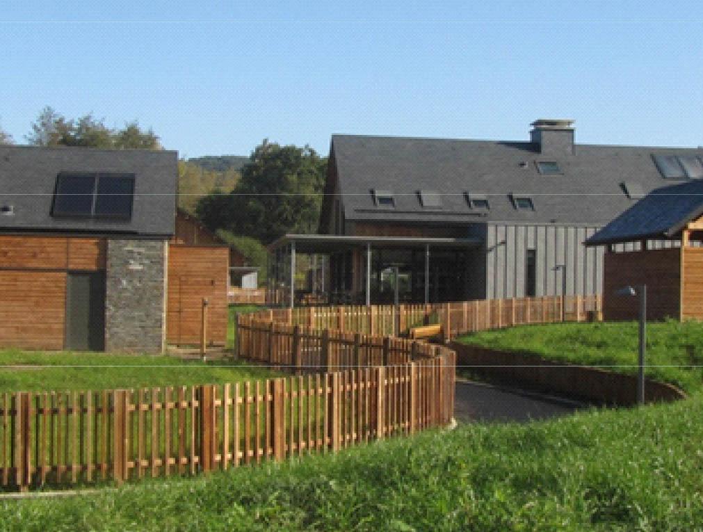 1e prix de la catégorie « Bâtiments et aménagments divers » : VILLAGE SÉJOUR ACCOMPAGNÉ à Allassac (19)