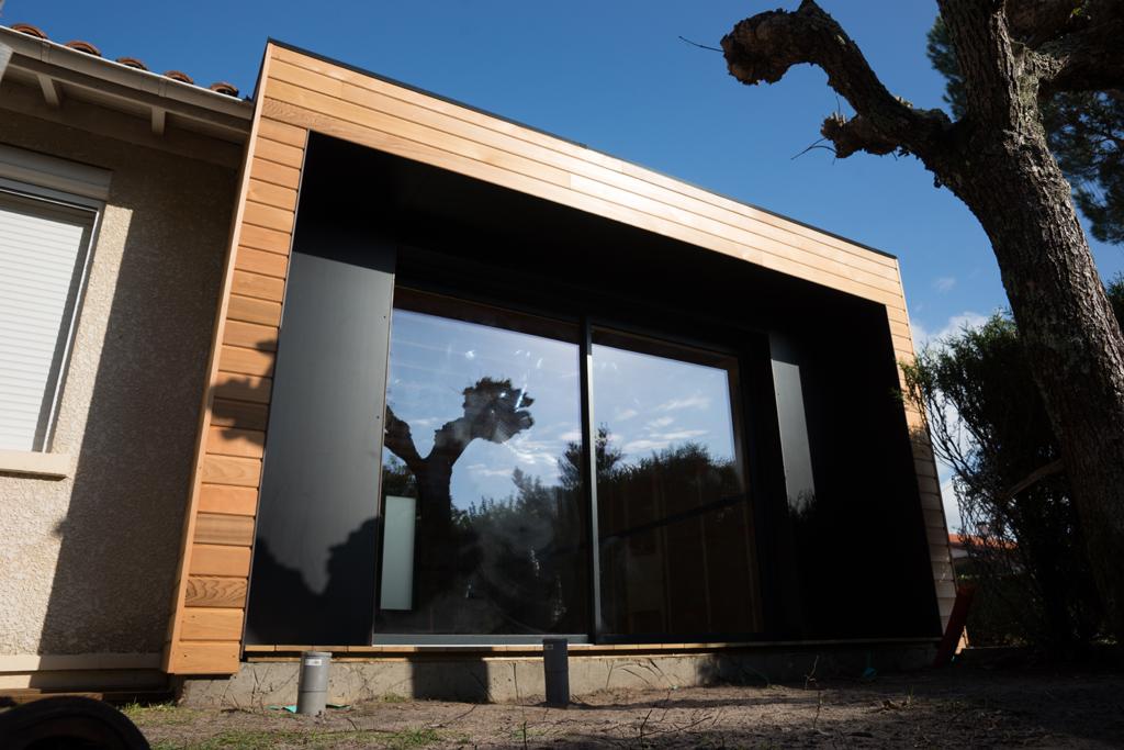 Extension de maison par Cube in life169;