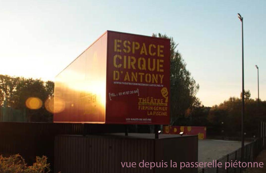 Espace cirque construit par MAD à Anthony