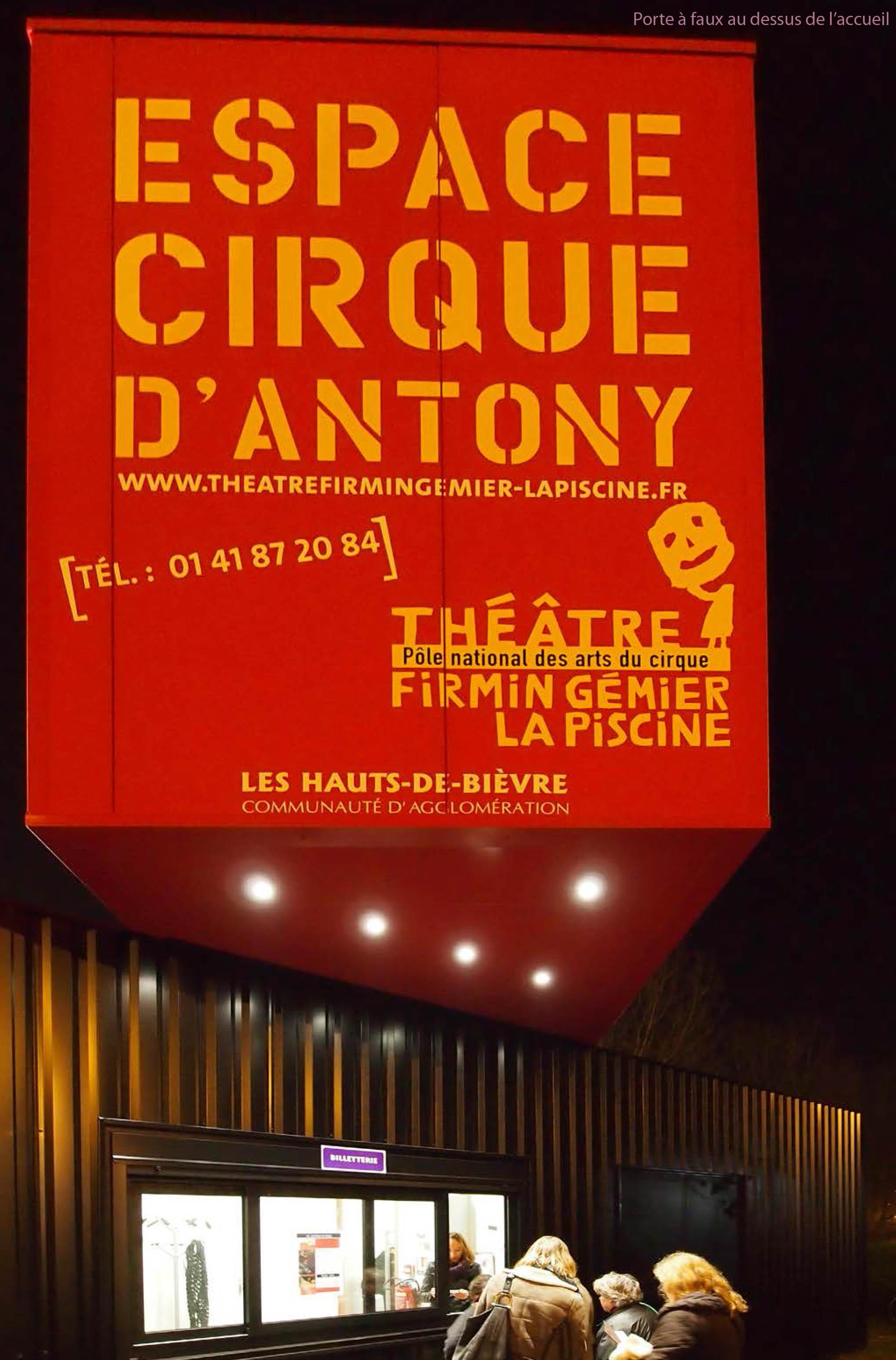 Espace cirque de la ville d'Anthony par MAD