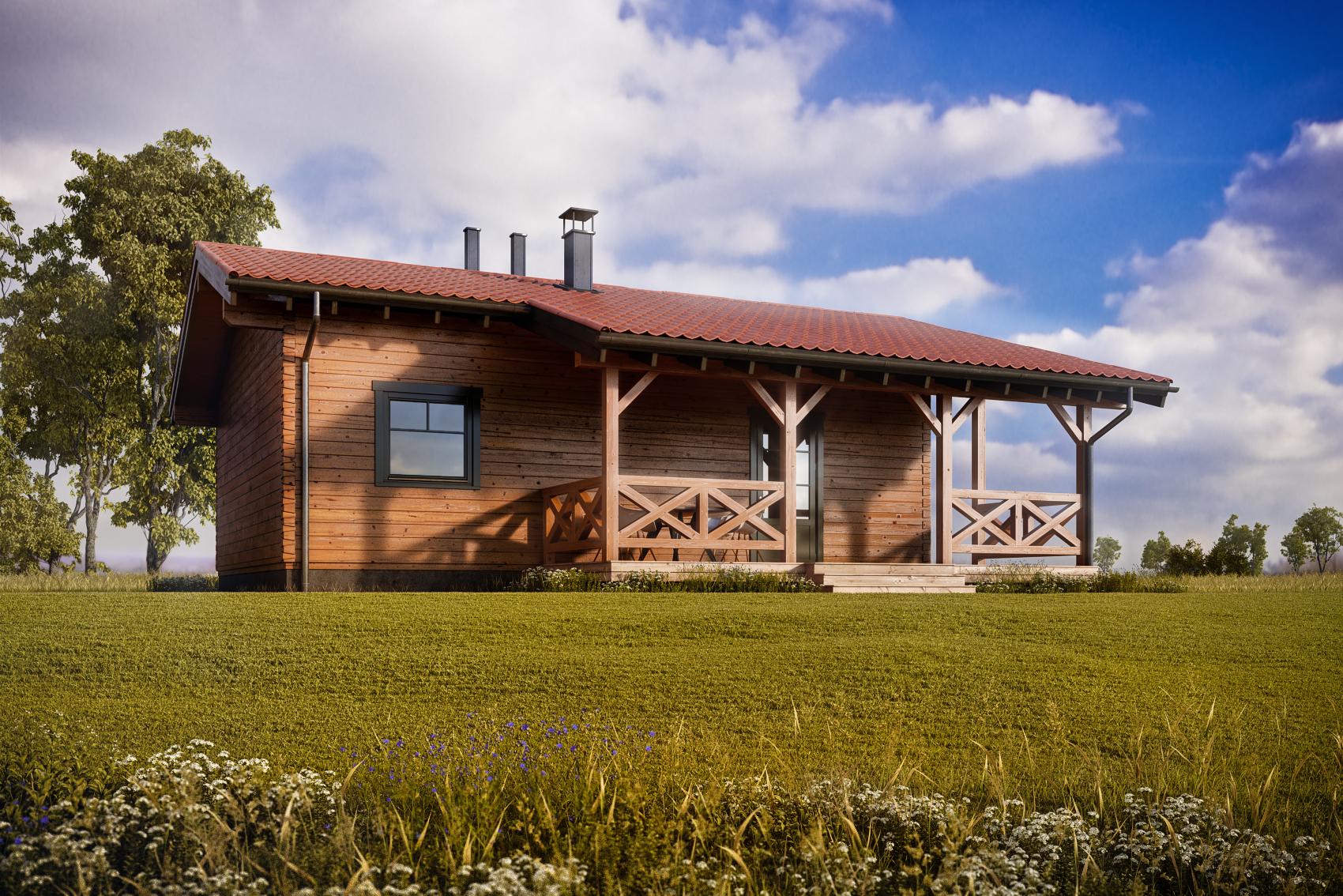 Maison Fourmi par Baltic Construction Bois