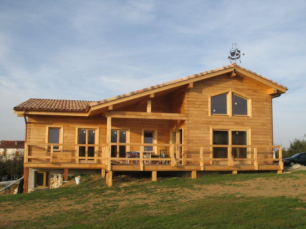 Maison Pailhes par Baltic Construction Bois