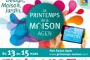 Le salon du Printemps de la maison à Agen, les 13, 14 et 15 mars 2015