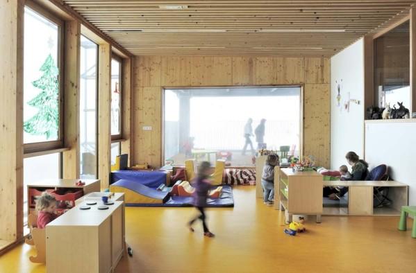 """""""Centre communal multifonctionnel"""" de Saint-Jean-d'Arvey par vincent rocques architecte - Projet bois"""