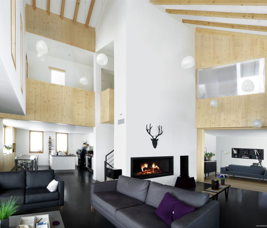 Concours archives eco maison bois for Chalet tardy