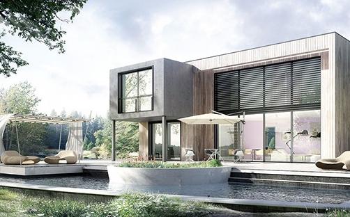 avec maison eco nature la domotique devient simple eco maison bois. Black Bedroom Furniture Sets. Home Design Ideas
