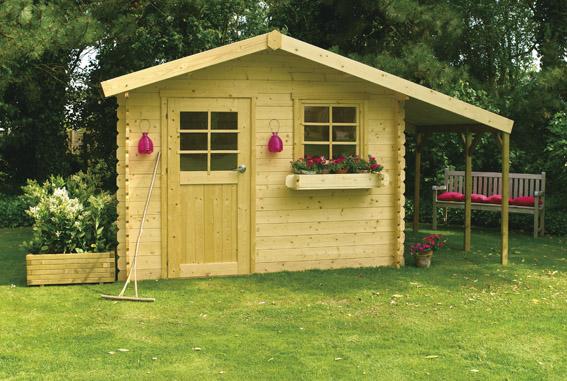 les tendances d abris de jardin 2015 eco maison bois. Black Bedroom Furniture Sets. Home Design Ideas