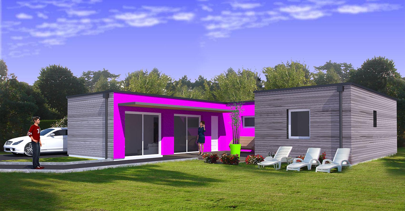des maisons modulaires partout en france eco maison bois. Black Bedroom Furniture Sets. Home Design Ideas