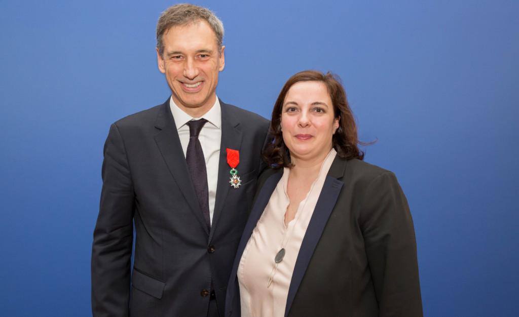 Frank Mathis et Emanuelle Cosse