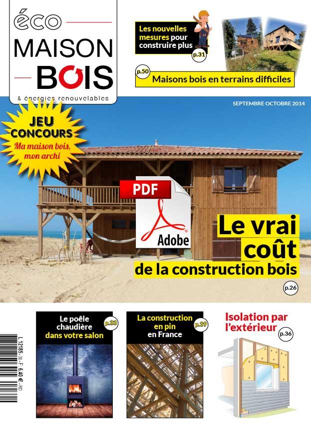 Eco construction maison bois ventana blog - Maison bois eco ...