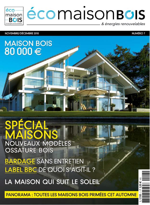 Eco maison bois n 7 eco maison bois - Maison bois eco ...