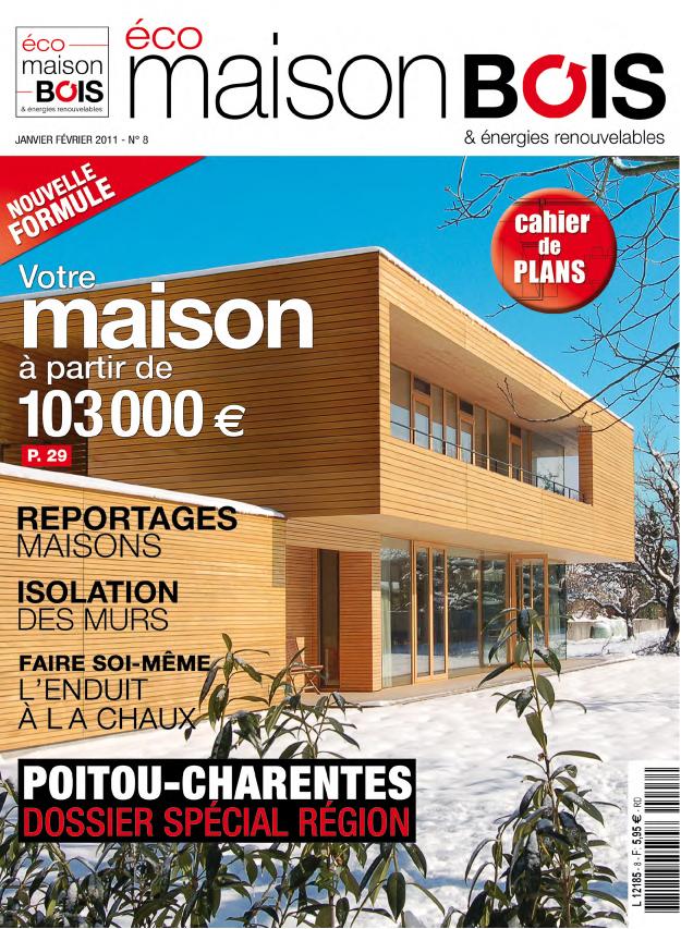 Eco maison bois n 8 eco maison bois - Maison bois eco ...