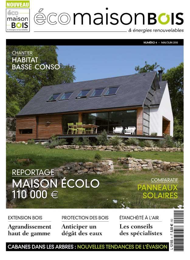 Magazine maison bois ventana blog for Magazine construction maison