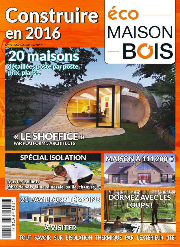 Eco maison bois n 39 eco maison bois - Maison bois eco ...