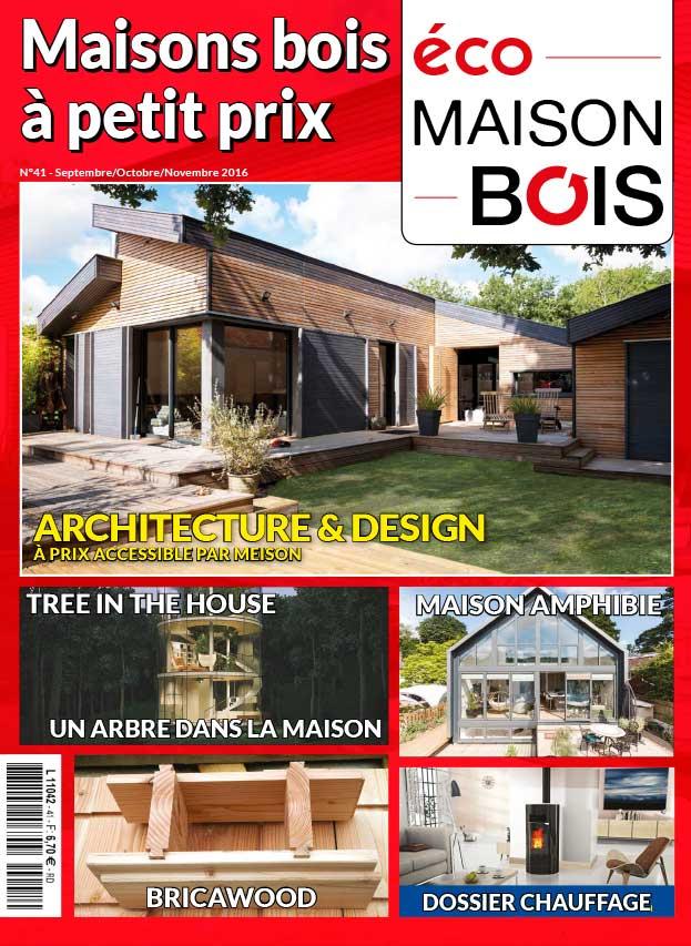 Eco maison bois n 41 eco maison bois for Meison construction