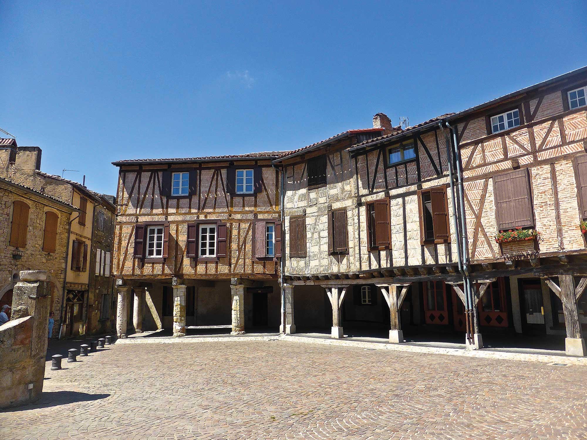 Maisons bois médiévales