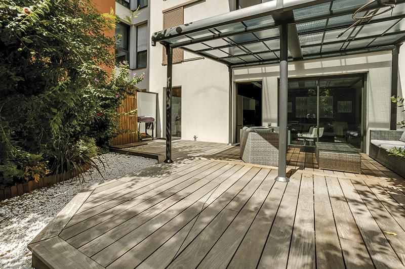 Terrasse en bois Carresol