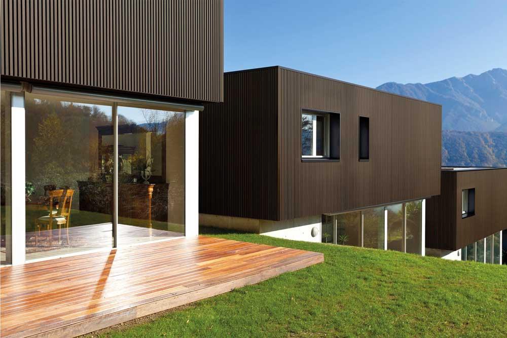 bardage bois composite weo eco maison bois. Black Bedroom Furniture Sets. Home Design Ideas