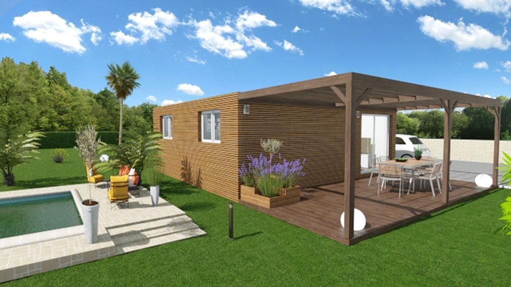 Maison modulaire - Modulabois - Eco maison bois
