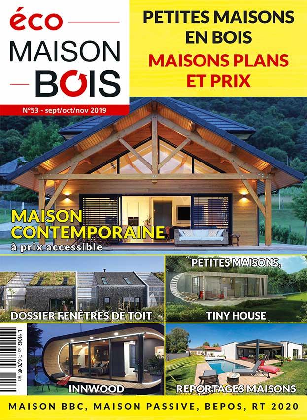 Eco maison bois n 53 eco maison bois - Maison bois eco ...