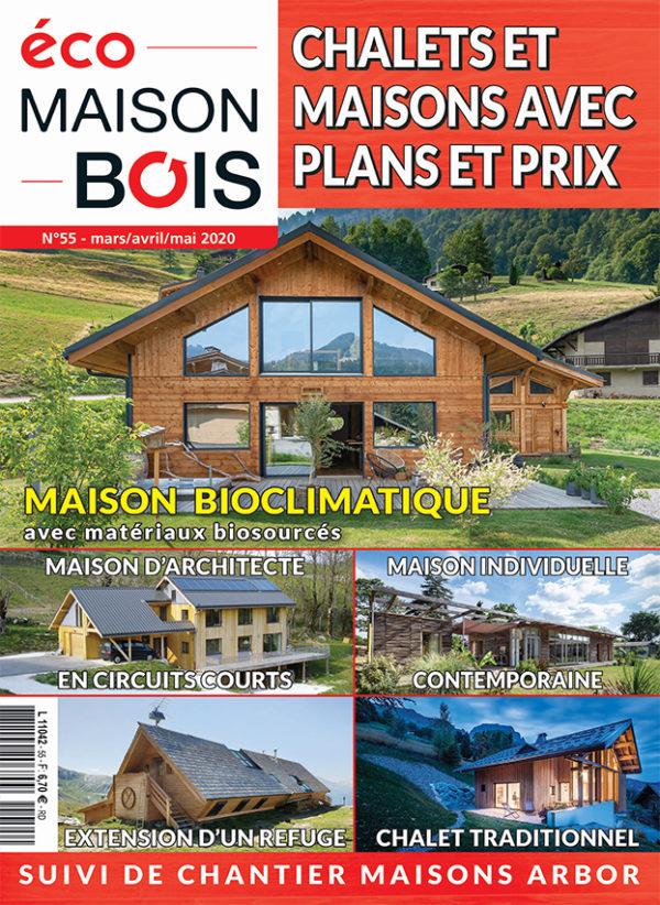 Magazine eco maison bois n°55