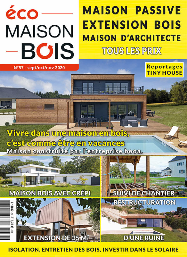 Magazine eco maison bois n°57